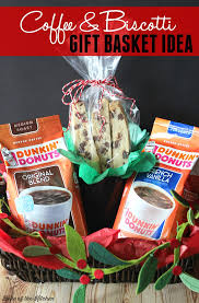 gift basket themes chocolate chip biscotti recipe and coffee gift basket idea