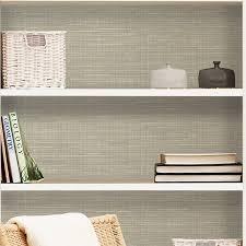 peel and stick grasscloth wallpaper grasscloth peel and stick 18 x 20 5 wallpaper roll reviews