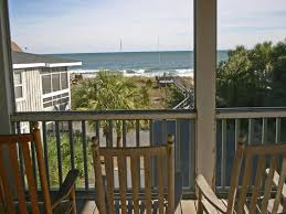 oceanfront dog friendly on pawleys island wrap around porch