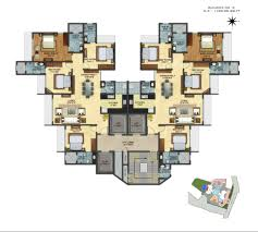 3 bhk apartment floor plan flats in hiranandani powai chandivali andheri east u2013 pashmina lotus