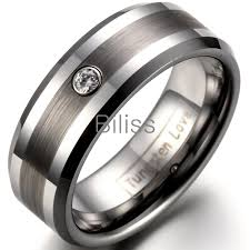 Mens 8mm White Gold Comfort Fit Wedding Band Wedding Rings Flat Vs Domed Ring Unique Mens Wedding Bands White