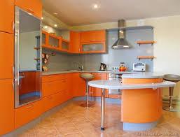 Orange Kitchens Ideas Orange Kitchen Cabinets Kitchen Design