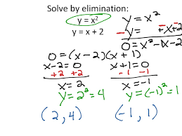 showme 9 8 systems of linear and quadratic equations