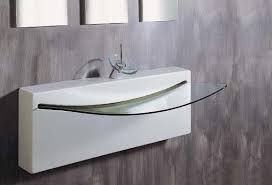 Designer Bathroom Sink Bathroom Stunning Modern Glass Bathroom Sink Ideas Modern