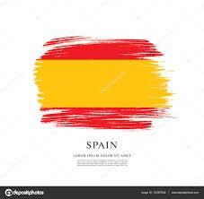 Spanish Flag испанский флаг фон U2014 векторное изображение Igor Vkv 137207942