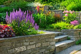 garden wall garden wall planter designs ideas image of cinder block haammss