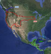 Where I Ve Been Map Where I U0027ve Been In North America 4corners7seas