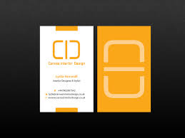 Business Closed Letter by Bold Upmarket Business Card Design For Canvas Interior Design By