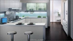 Light Blue Kitchen Backsplash by Apartments Minimalist Kitchen Room Design With White Kitchen