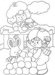 coloring book strawberry shortcake u0027s winter fun coloring book