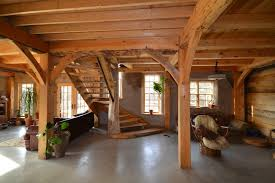 barn home interiors how one built his pole barn house sixprit decorps
