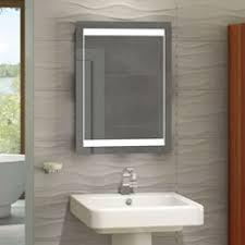 Led Bathroom Mirror by Battery Led Bathroom Mirror Cabinet Bar Cabinet