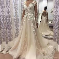 vintage wedding dress discount 2018 vintage wedding dress boat neck sleeve button