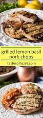 basil lemon pork chops marinade recipe tips for juicy grilled