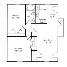floorplans hampton creste the willow 2 bedroom 1 bathroom 807 sqft 695