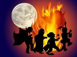 kids halloween background
