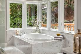 Acrylic Bathtub Surround Marble Tub Surround Bathroom Contemporary With Tile Flooring