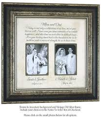 personalized wedding photo frame wedding frame gift of the gift parents thank you
