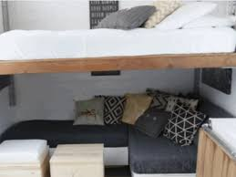 House Gif Genius Tiny House Is Full Of Diy Transforming Furniture Curbed