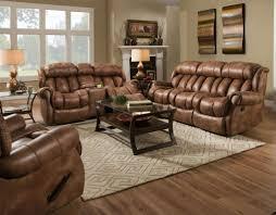 Rocking Reclining Loveseat With Console Homestretch 136 30 15 23 15 2pc Tan Casual Contemporary Reclining