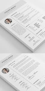 Cv Resume Templates 26 Creative Cv Resume Templates With Cover Letter Portfolio