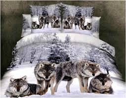 Wolf Bedding Set Wolf Bedding Sets Home Design Remodeling Ideas