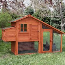 Best Backyard Chicken Coops by Boomer U0026 George Deluxe Chicken Coop With Exercise Pen Hayneedle