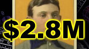 2 8 million most valuable baseball card honus wagner t206 youtube