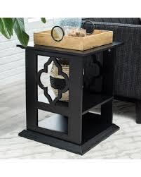 Quatrefoil Side Table Great Deals On Belham Living Renata Quatrefoil Side Table