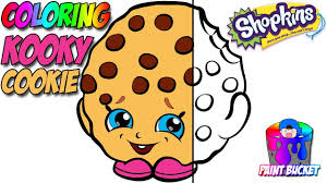 shopkins coloring book season 1 kooky cookie coloring pages