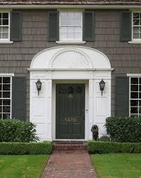 Exterior Door Pediment And Pilasters by Front Door Pediments Whlmagazine Door Collections