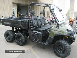 polaris sportsman big boss 6x6 800 atv is one of the hardest
