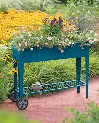 nature inspired home decor gardeners com demeter mobile planter cart