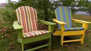 Sunbrella Bistro Chair Cushions Furniture Pretty Adirondack Chair Cushions For Home Furniture
