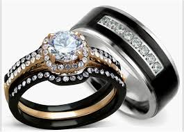 cheap his and hers wedding bands 32 design his and hers engagement rings delicious home design news
