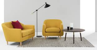 Made Armchair Tubby Armchair Retro Yellow Made Com
