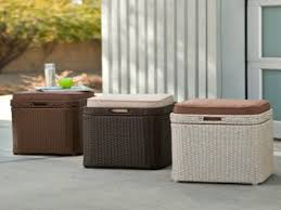 Waterproof Patio Storage Bench by Benches Storage Outdoor Cushion Storage Deck Boxes Outdoor Patio