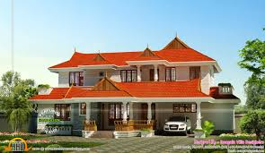 kerala traditional style 4bhk house kerala home design