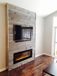 shiplap fireplace insert no tv would work in room with no wooden furniture or