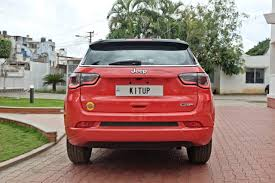 jeep india modified modified jeep compass rear view indian autos blog