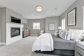 cappuccino paint color with vintage chair bedroom transitional and