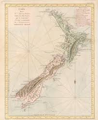 geography blog maps james cook u0027s new zealand