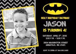Personalized Invitation Card For Birthday Batman Party Invitations U2013 Gangcraft Net