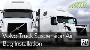 volvo trucks technical support volvo truck suspension air bag how to otr performance youtube
