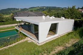 architectural house designs two glass facades open house m to the danube valley views