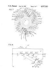 patent us4937513 tapped auxiliary winding for multi speed drawing