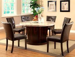 bedroom glamorous round granite top dining table oak chairs leaf