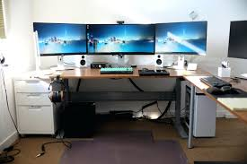 Computer Corner Desk Ikea Ikea Computer Desk Hack Picevo Me