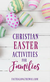 christian easter activities for families
