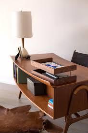 interior modern l shape metal office desks with glasses